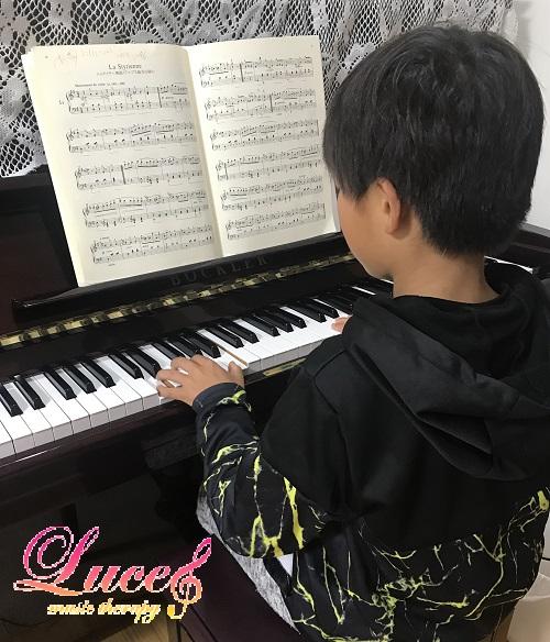 息子とピアノレッスン 娘とお買い物へ 子ども達の習い事状況