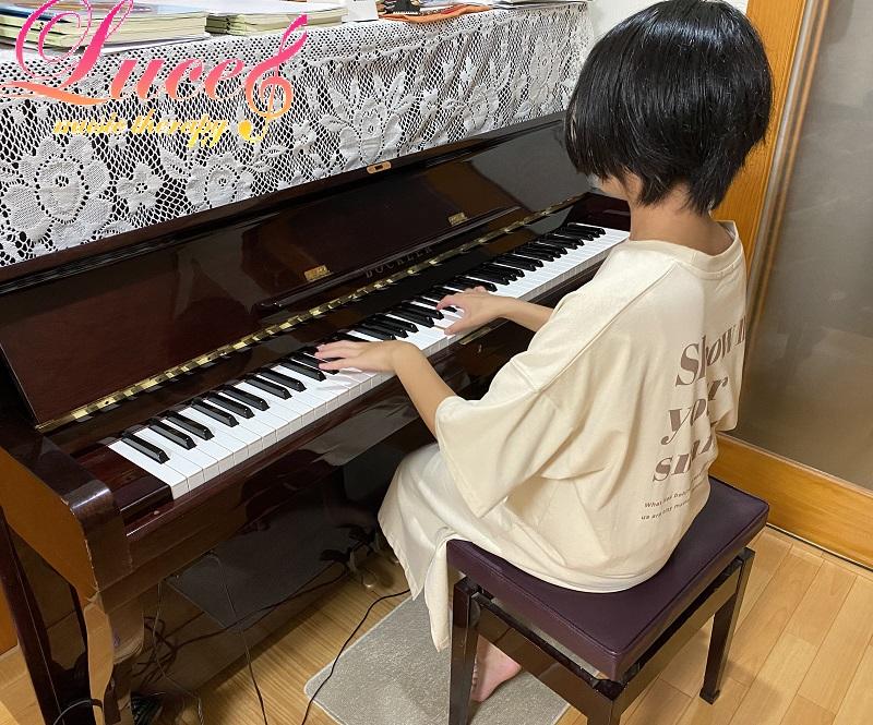 中学3年生 今年度も合唱発表会でピアノ伴奏担当になりました!