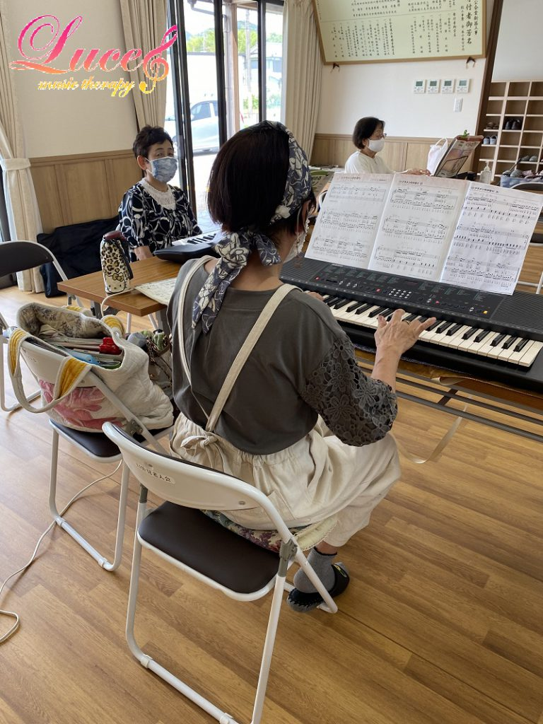 姫路市林田公民館『中高年から始めるらくらくピアノ®』教室 来年3月まで場所が変更となりました