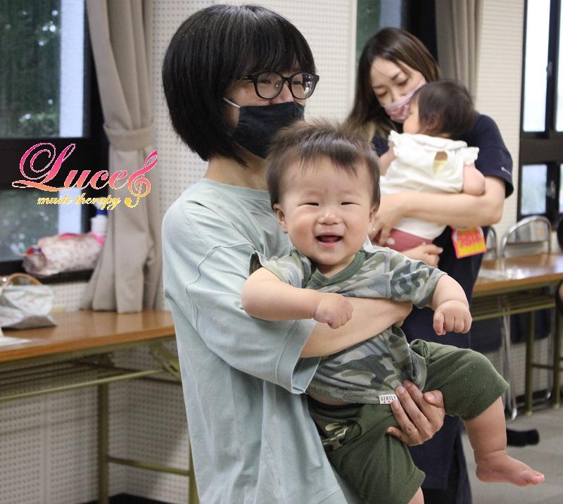 姫路市網干市民センター教室も笑顔いっぱいリトミック! 0歳乳幼児からの姫路市ルーチェリトミック