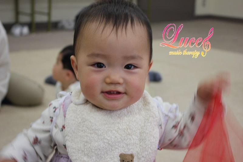 リピーター率が高く、今日もご入会!生後5ヶ月Rくん 0歳からの姫路市ルーチェリトミック教室