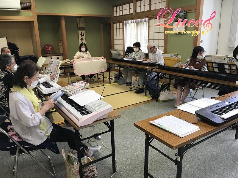【姫路らくらくピアノ教室】中高年から始めるらくらくピアノ®教室も続々とお問い合わせ!