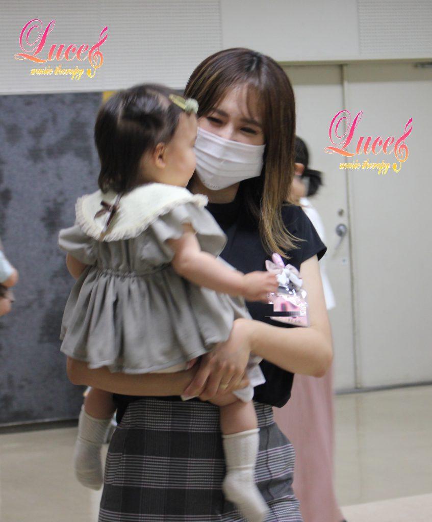今日もご入会! 生後10ヶ月Gくん・1歳9ヶ月Kちゃん 姫路駅前教室0歳からのルーチェリトミック