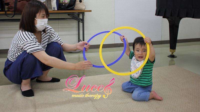 多くのご要望にて「日曜リトミックレッスン」始まります! 0歳乳幼児~姫路市ルーチェリトミック