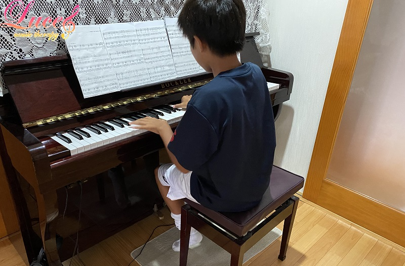 中学1年生 サッカー部の息子も文化発表会にてピアノ伴奏担当になりました! 【姉弟でピアノ伴奏】
