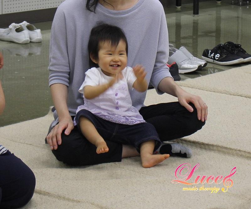 今日もご入会♪生後11ヶ月Tくん 姫路市広畑市民センター教室 0歳乳幼児~ルーチェリトミック教室
