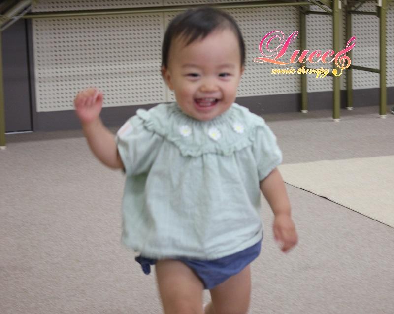 「初めてでも楽しめて嬉しかったです」生後8ヶ月Hくんお母さま 姫路市灘(白浜町)リトミック教室
